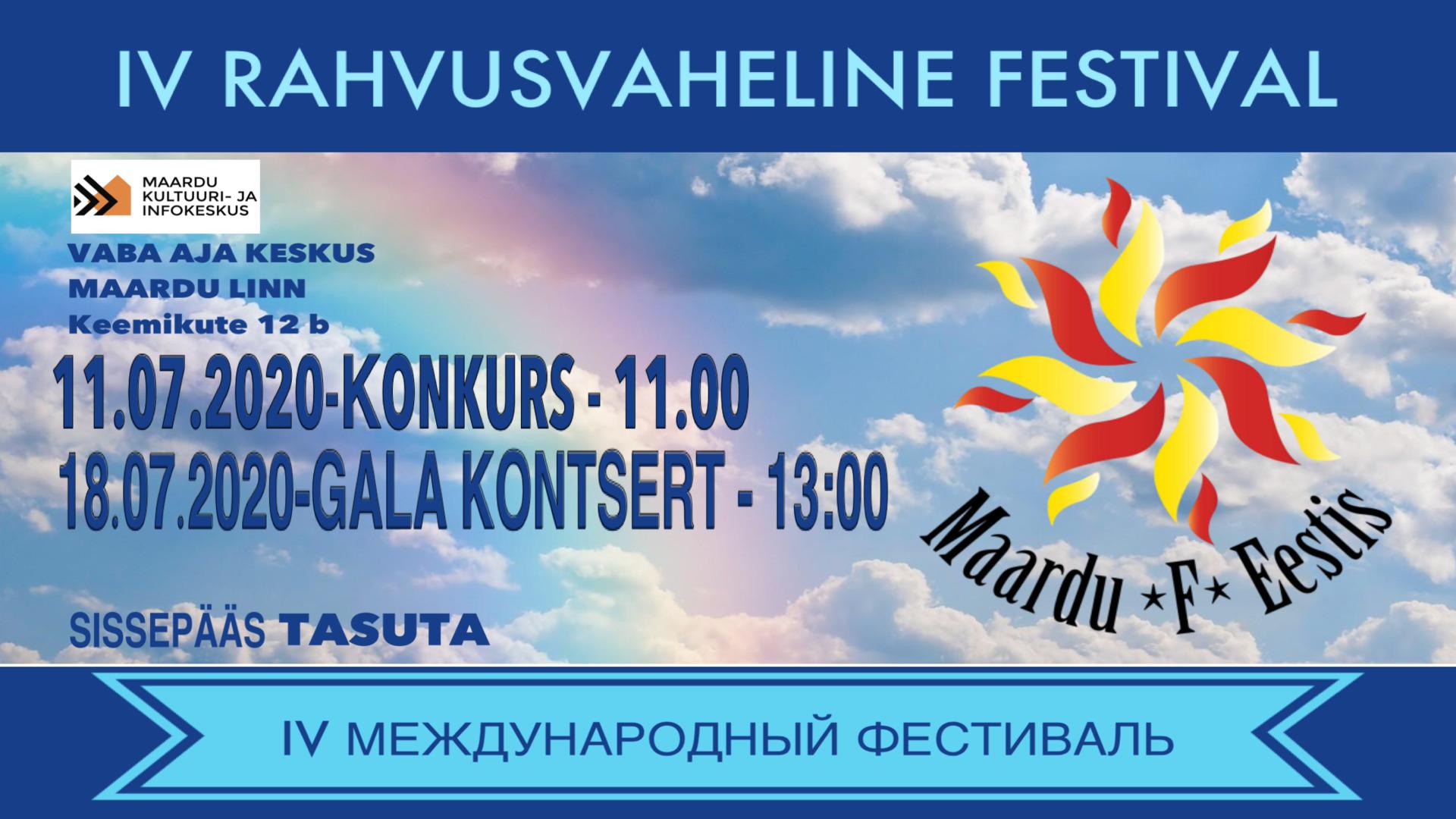 Rahvusvaheline festival Maardu F Eestis