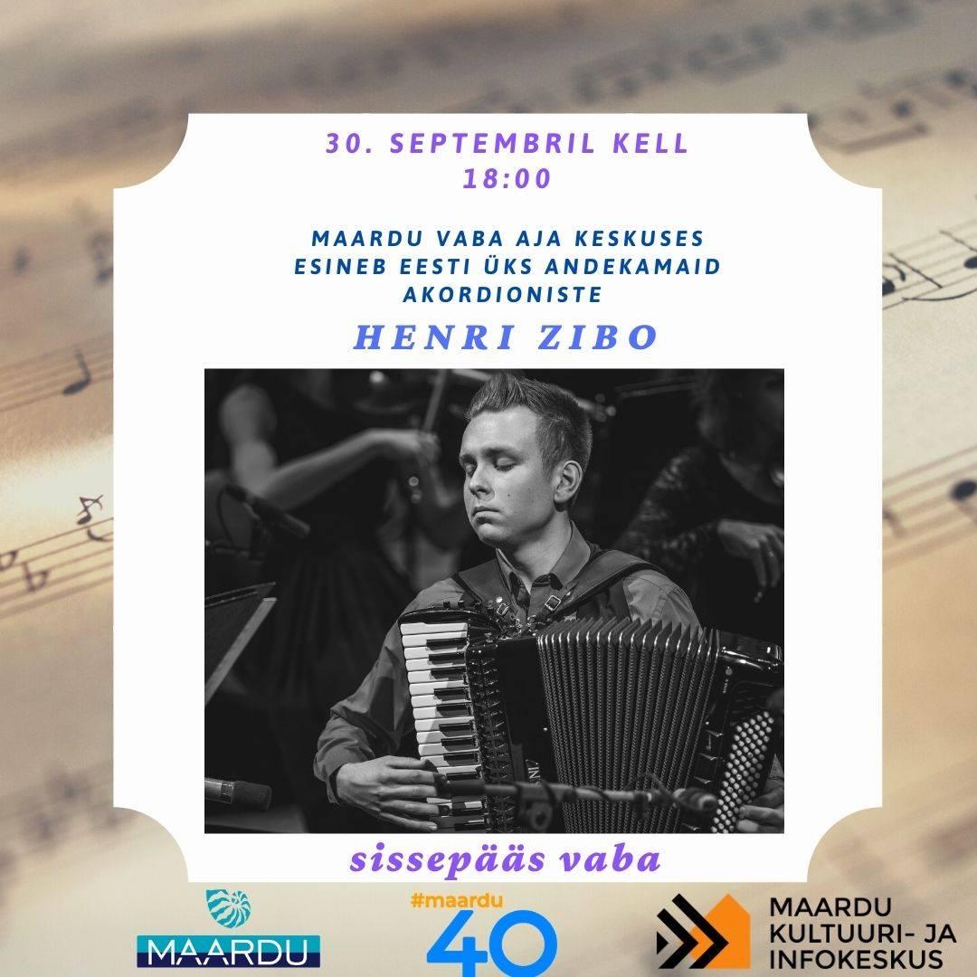 Концерт аккордеониста Хенри Зибо